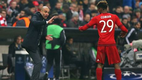 Man City muon co Kingsley Coman - Anh 1