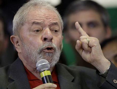 Cuu Tong thong Brazil Lula da Silva khang dinh khong pham toi - Anh 1