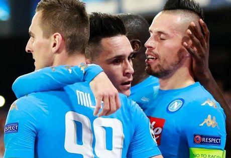Napoli sap lap ky tich 'vo tien khoang hau' o Champions League - Anh 1