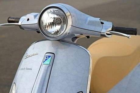 Vespa Primavera can trung doc nhat Viet Nam - Anh 2