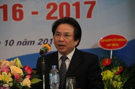 Thu truong Bui Van Ga danh trong khai giang nam hoc moi tai Hoc vien Quan ly Giao duc - Anh 3