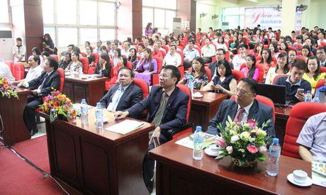 Thu truong Bui Van Ga danh trong khai giang nam hoc moi tai Hoc vien Quan ly Giao duc - Anh 5