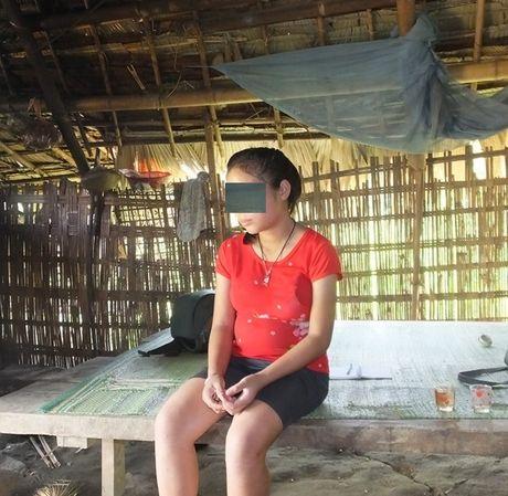 Thanh Hoa: Chau be 12 tuoi mang thai 7 thang - Anh 1