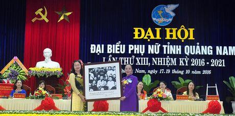 Dai hoi dai bieu Phu nu tinh Quang Nam lan thu XIII nhiem ky 2016 – 2021 - Anh 1