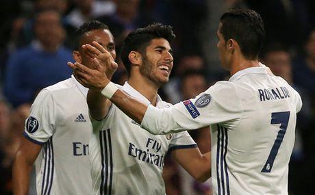 Champions League: Ronaldo 'tit ngoi' Real Madrid van dai thang - Anh 4