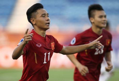Cau thu U19 Viet Nam tuyen chien U19 Iraq - Anh 1