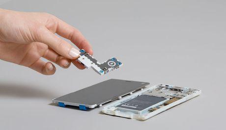 Fairphone 2: dien thoai module co the de dang sua chua, thay the linh kien, 10/10 diem iFixit, 575$ - Anh 2