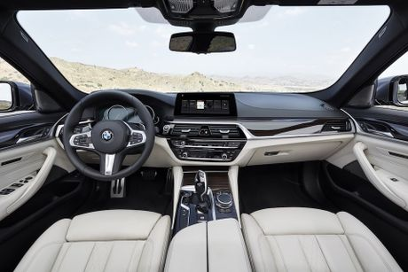 Nhung gi ban can biet ve BMW 5-Series 2017 hoan toan moi - Anh 11