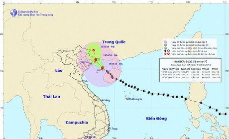 Bao so 7 tien sat Quang Ninh, hoc sinh duoc nghi hoc - Anh 2