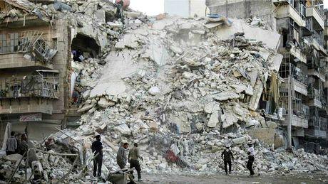 Syria: Nga tam thoi ngung khong kich khung bo tai 'chao lua' Aleppo - Anh 1