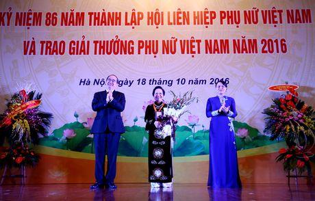 Giai thuong Phu nu Viet Nam 2016: Ton vinh 6 tap the va 10 ca nhan xuat sac - Anh 2