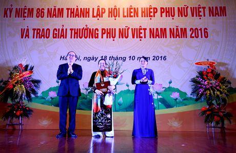 Giai thuong Phu nu Viet Nam 2016: Ton vinh 6 tap the va 10 ca nhan xuat sac - Anh 3