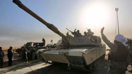 Tran chien Mosul: Quan doi Iraq mo cuoc tien cong nhanh - Anh 1
