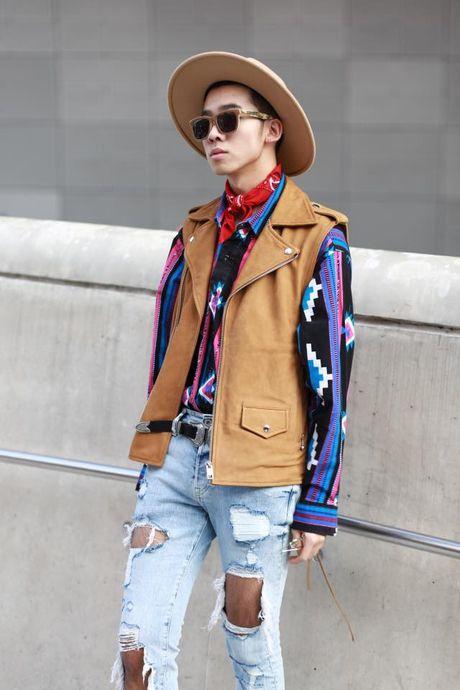 Loat fashionista Viet 'oanh tac' Seoul Fashion Week 2017 - Anh 14