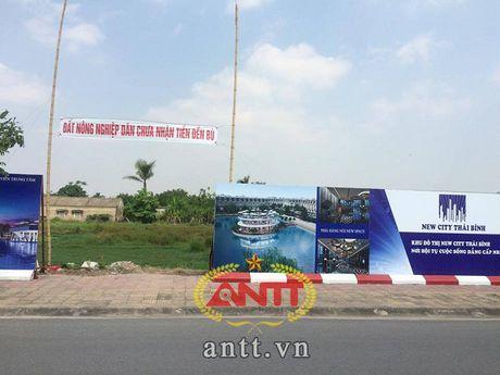 Du an New City Thai Binh: GPMB chua xong, dat da rao ban - Anh 3