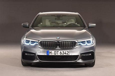 BMW ra mat 5-Series the he moi, ngoai hinh khong doi,cai tien manh tu trong - Anh 1