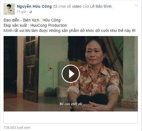 Clip quang cao game cua Huu Cong va E-kip bi cong dong mang nem da toi boi - Anh 1