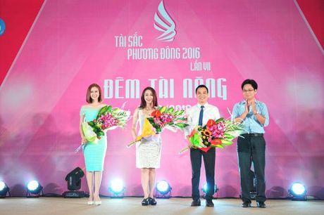 Dan trai xinh gai dep quy tu trong dem Tai nang 'Tai sac Phuong Dong lan VII nam 2016' - Anh 1