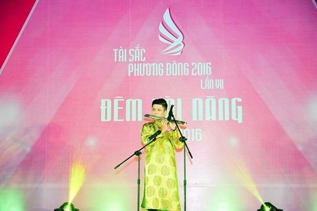 Dan trai xinh gai dep quy tu trong dem Tai nang 'Tai sac Phuong Dong lan VII nam 2016' - Anh 5