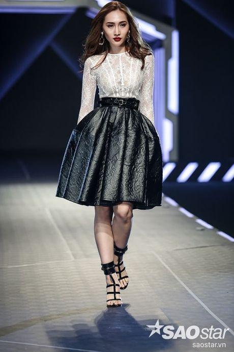 Lan Khue cung dan 'chien binh' The Face chiem the thuong phong tai Chung Thanh Phong Fashion show - Anh 11