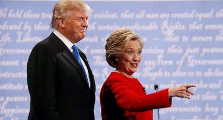 Trump dan truoc Clinton theo tham do chinh xac nhat bau cu My - Anh 1