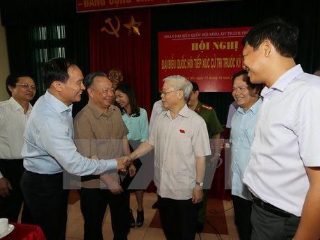 Tong bi thu Nguyen Phu Trong: Can bo khong guong mau thi noi chang ai nghe - Anh 1