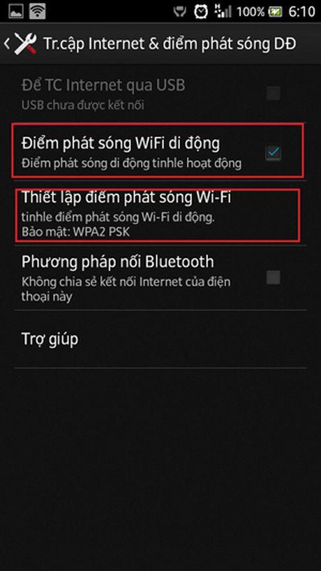 Huong dan phat WiFi bang iPhone va dien thoai Android, Windows - Anh 3
