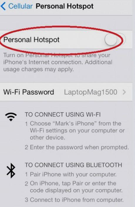 Huong dan phat WiFi bang iPhone va dien thoai Android, Windows - Anh 8