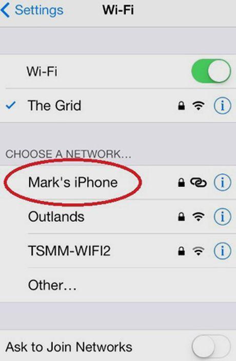 Huong dan phat WiFi bang iPhone va dien thoai Android, Windows - Anh 9