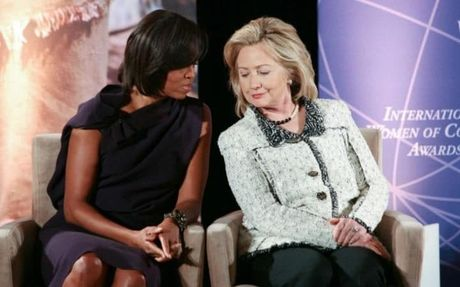 Ba Hillary tu tin tien vao sao huyet cua dang Cong hoa - Anh 1