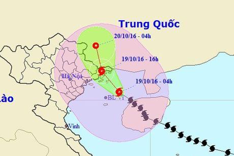 Chieu nay bao do bo vao Quang Ninh, Ha Noi sap co mua rao - Anh 1
