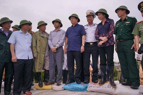 Pho Thu tuong kiem tra chong bao o Quang Ninh - Anh 2