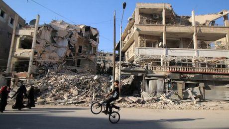 Ngung ban 8 gio cuu tro Aleppo - Anh 1