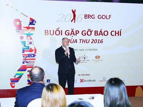 BRG Golf Ha Noi Festival dien ra vao thang 11/2016 - Anh 1