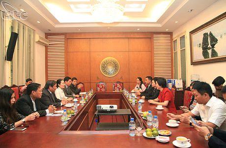 Tong cuc truong Nguyen Van Tuan tiep doan Uy ban phat trien du lich Hai Nam, Trung Quoc - Anh 1