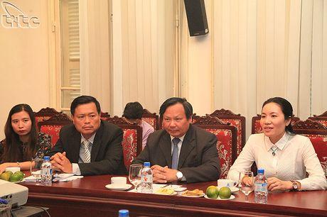 Tong cuc truong Nguyen Van Tuan tiep doan Uy ban phat trien du lich Hai Nam, Trung Quoc - Anh 2