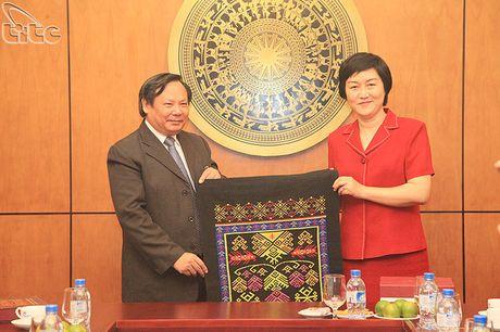 Tong cuc truong Nguyen Van Tuan tiep doan Uy ban phat trien du lich Hai Nam, Trung Quoc - Anh 4