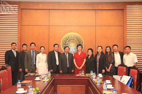 Tong cuc truong Nguyen Van Tuan tiep doan Uy ban phat trien du lich Hai Nam, Trung Quoc - Anh 5