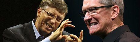 Tiet lo gay 'soc': Ty phu Bill Gates va CEO Apple suyt duoc lam Pho tuong cua ba Clinton - Anh 1