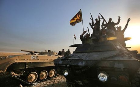 Iraq: Quan doi chinh phu chiem uu the tai Mosul - Anh 1
