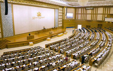 Myanmar an dinh thoi gian to chuc bau cu Quoc hoi bo sung - Anh 1