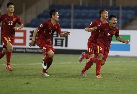 Truc tiep U19 Iraq - U19 Viet Nam: Viet Nam quyet lap ky tich - Anh 1