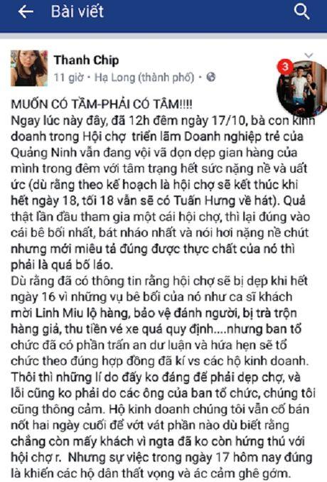 Hoi cho 'bat nhao' lam anh huong thuong hieu Quang Ninh - Anh 3