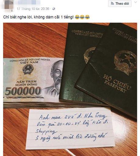 Thang thot voi qua 20/10 'kho do' cua chi em - Anh 1