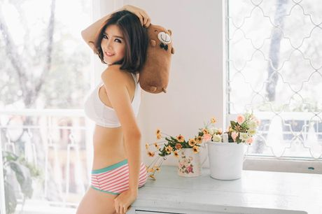 Lilly Luta goi cam va day suc song trong tung shoot hinh - Anh 3