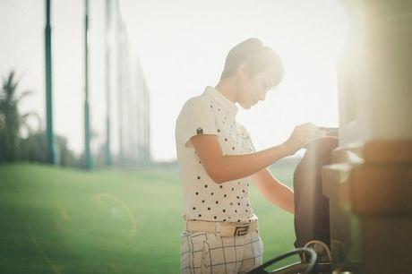 Choang voi so thich choi golf ton kem cua nu MC dai VTV - Anh 12