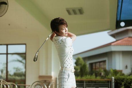 Choang voi so thich choi golf ton kem cua nu MC dai VTV - Anh 1