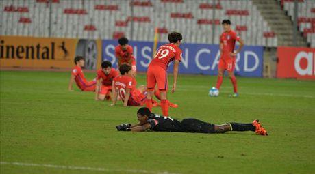 U19 Han Quoc bi loai soc khoi VCK U19 chau A 2016 - Anh 1