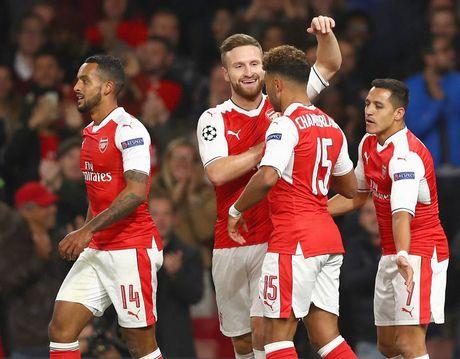 5 diem nhan sau tran Arsenal - Ludogorets: Oezil lap hat-trick, Phao thu thang dam - Anh 5