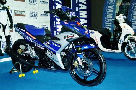 Soi 'xe dua' Exciter 150 chinh hang cua Yamaha Viet Nam - Anh 1